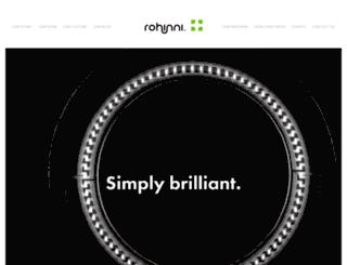 rohinni.com screenshot