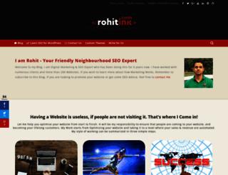 rohitink.com screenshot
