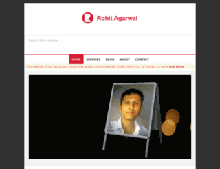 rohitpoint.com screenshot