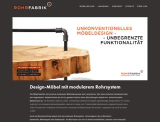rohrfabrik.ch screenshot