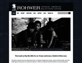 rohwer.astate.edu screenshot