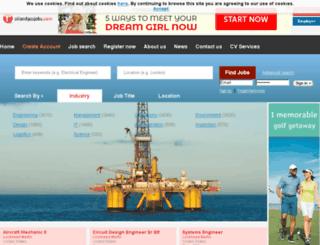 roilandgasjobs.com screenshot
