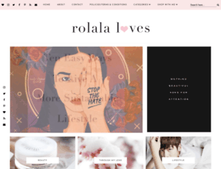 rolalaloves.blogspot.com screenshot