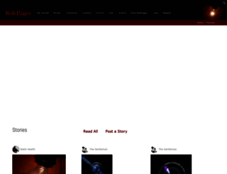 rolepages.com screenshot