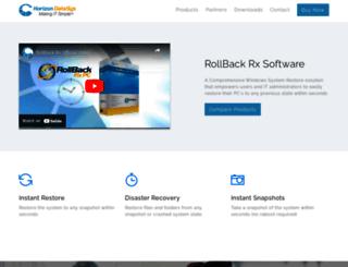 rollbacksoftware.com screenshot