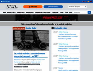 rollerenligne.com screenshot