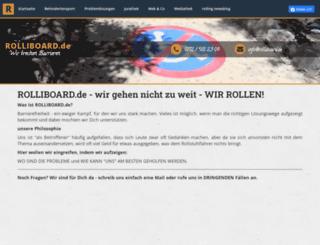 rolliboard.de screenshot