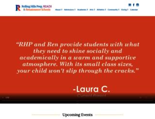 rollinghillsprep.org screenshot