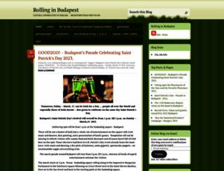 rollinginbudapest.com screenshot