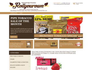 rollyourown.com screenshot
