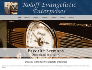 roloff.org screenshot