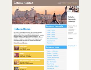 roma-hotels.it screenshot