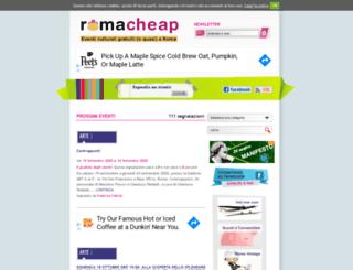 romacheap.it screenshot