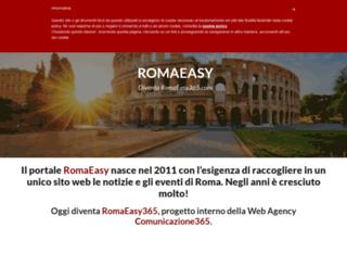 romaeasy.it screenshot
