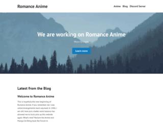 romanceanime.com screenshot