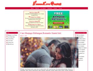 romancelovequotes.com screenshot
