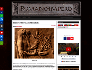 romanoimpero.com screenshot