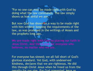romans322.com screenshot