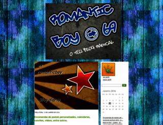 romanticboy69.blogs.sapo.pt screenshot