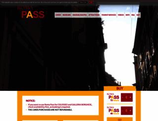 romapass.it screenshot
