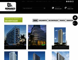 romarcoconstrutora.com.br screenshot