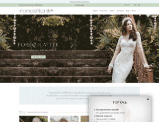 romashkabridal.com screenshot