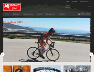 rometbikes.com screenshot