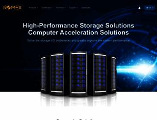 romexsoftware.com screenshot