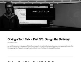 romiller.com screenshot