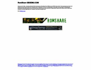 romshare.gbxemu.com screenshot