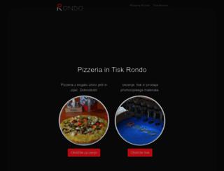 rondo.si screenshot