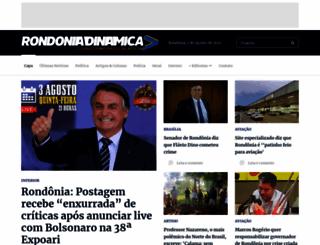 rondoniadinamica.com screenshot