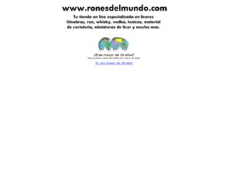 ronesdelmundo.com screenshot