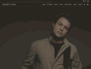 roneygiah.com screenshot