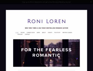 roniloren.com screenshot