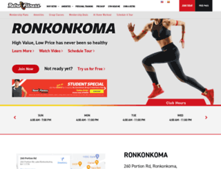 ronkonkomany.retrofitness.net screenshot