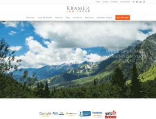 ronkramerlaw.com screenshot