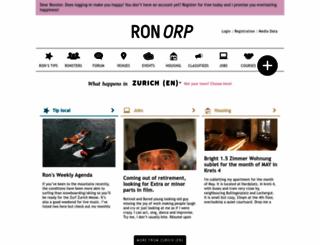 ronorp.ch screenshot
