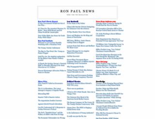 ronpaulnews.net screenshot