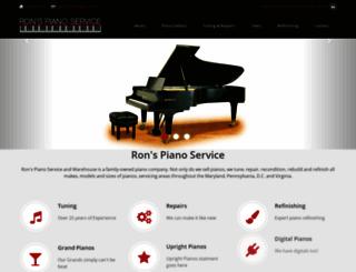 ronspianowarehouse.com screenshot