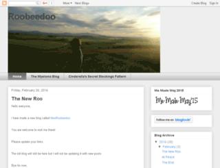 roobeedoo.blogspot.com screenshot