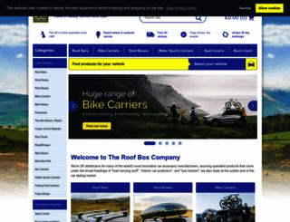 roofbox.co.uk screenshot