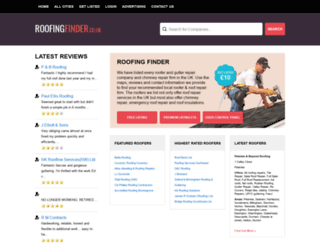 roofingfinder.co.uk screenshot