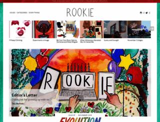 rookiemag.com screenshot