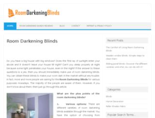 roomdarkeningblinds.org screenshot