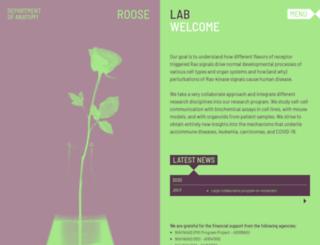 rooselab.ucsf.edu screenshot