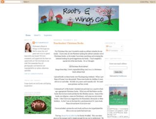 rootsandwingsco.blogspot.com screenshot