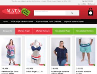 ropatallasgrandes.net screenshot