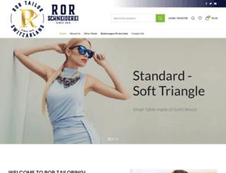 ror-schneiderei.ch screenshot