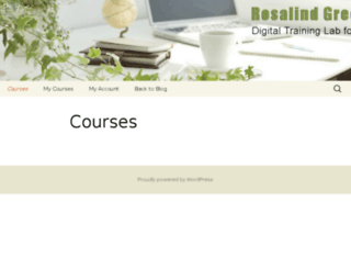 rosalindgreenonline.com screenshot